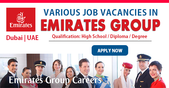 Apply For Latest Job Vacancies in Emirates Group for August 2020