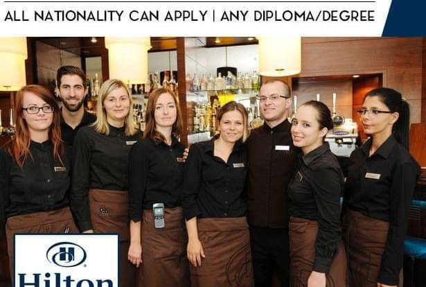 Apply For Latest Jobs in HILTON HOTEL GROUP-UAE