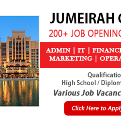 Apply For Latest jobs online at The Jumeirah Group