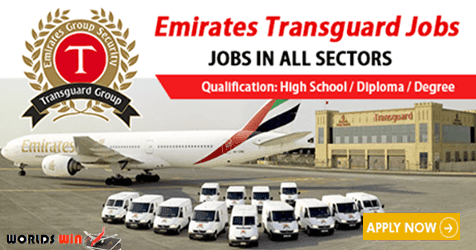 Vacancies in Emirates Transguard
