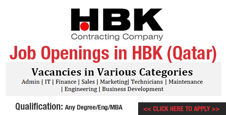 Hbk job recruitment