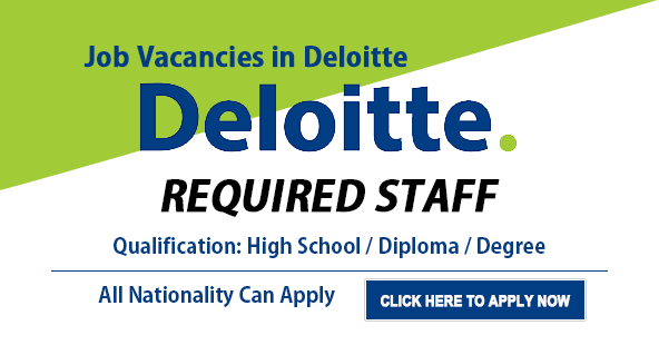 Deloitte recruitment
