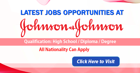 Apply For Latest Jobs in Johnson & Johnson-2020