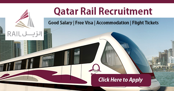 Latest Job Vacancies in Qatar Rail