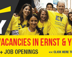 Apply for Latest Job Vacancies in Ernst and Young