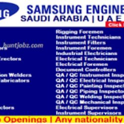 Apply For Latest Vacancies at SAMSUNG
