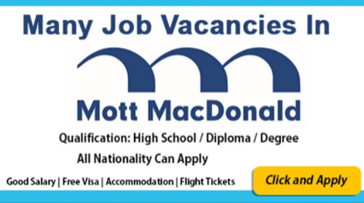 Apply For Vacancies at Mott MacDonald