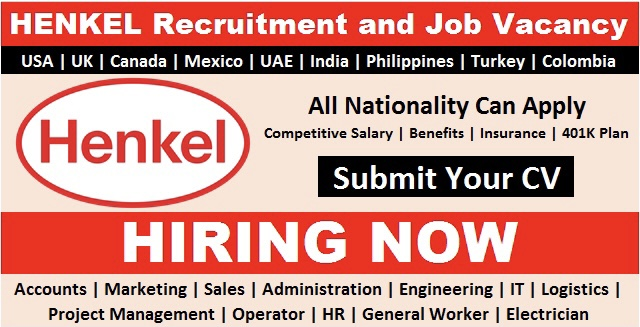Apply For Job Vacancies in HENKEL