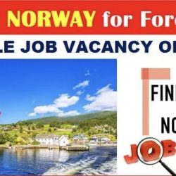 Latest Jobs in Norway for Foreigners