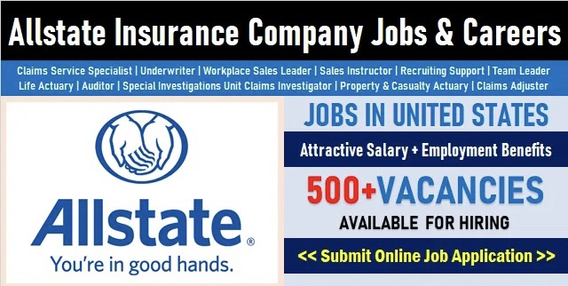 Allstate Careers Opening | Exciting Insurance Job Vacancies