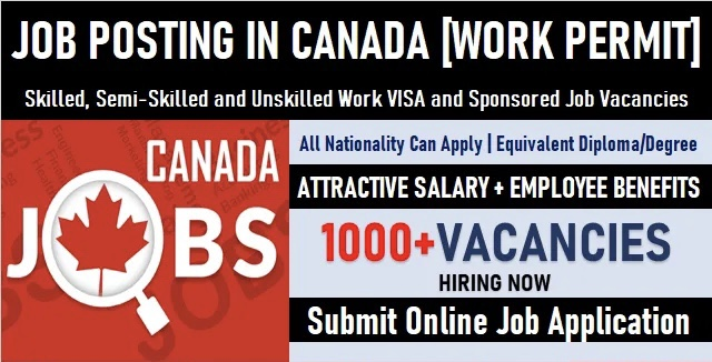 Job Posting Canada | Latest Canadian Job Posts