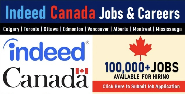 Apply For 1000+ Indeed Canada Jobs