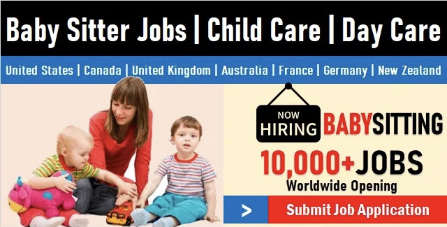 1000+ Urgent Baby Sitter Jobs | Find Vacancies & Hiring